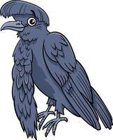 cartoon umbrellabird comic animal character vector