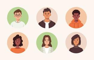 People Avatar Collection vector