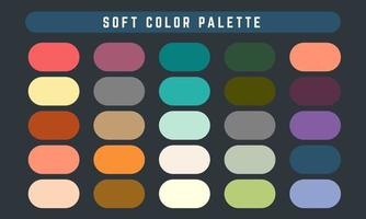 Soft Vector Color Palette