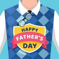 Father's Day Design Concept vector