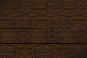 Brown wooden wall, plank, table or floor surface vector