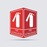 Fire extinguisher icon.Vector illustration vector
