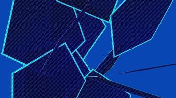 fundo de padrão abstrato de forma quadrada video