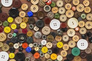 vista de fotograma completo muchos botones de colores foto