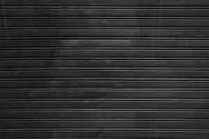 Black profiled sheeting background photo