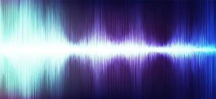 Modern Digital Sound Wave with on Ultra Violet Background,technology and earthquake wave concept,design for music industry,Vector,Illustration.