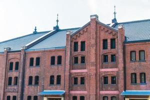 Brick warehouse in Yokohama city, Japan photo