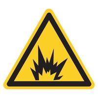 Signo de símbolo de peligro de arco eléctrico, ilustración vectorial, aislar en la etiqueta de fondo blanco .eps10 vector