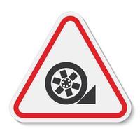 icono de ppe utilizar el símbolo de tapón aislar sobre fondo blanco, ilustración vectorial eps.10 vector