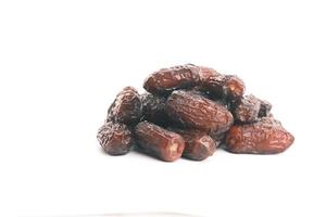 Dates on a white background photo