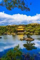Kinkakuji temple in Kyoto, Japan photo