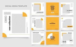 social media template banner blog fashion sale promotion. vector