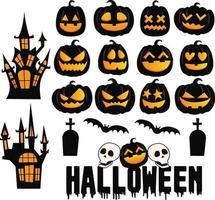 Happy Halloween's cute illustration vector