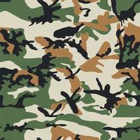 camouflage army style seamless pattern vector