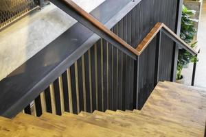Modern coffee shop design interior photo