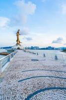 Kun iam statue, landmark in Macau city, China photo