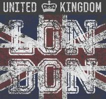 T-shirt london UK v1 vector