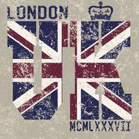 T-shirt london UK v2 vector