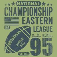 football eastern league green grunge vector