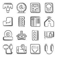 dispositivos y gadgets vector
