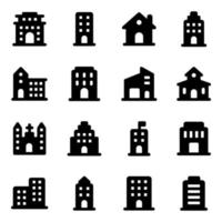 Buildings and Architectures Elements vector