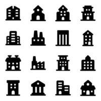 Commercial Building Elements vector