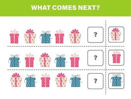 what comes next gifts vector