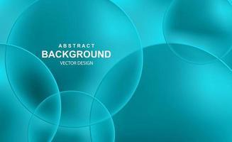 fondo abstracto con bolas transparentes vector