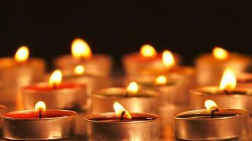 bougies romantiques video