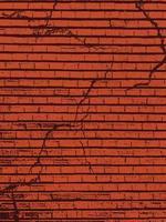 textura de la pared de ladrillo. superposición de textura de pared de ladrillo antiguo. textura grunge. vector