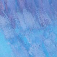 Empty monochromatic blue painted background photo