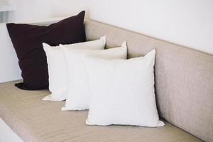 Sofa and pillow photo