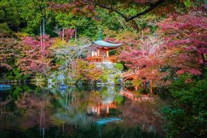 Daigoji temple in autumn, Kyoto, Japan photo