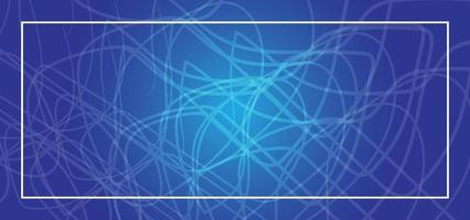 Blue abstract background or banner vector