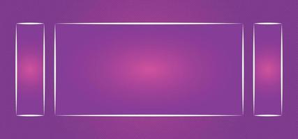 abstract glossy beautiful background or frame vector