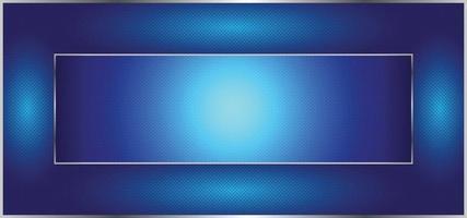 hermoso fondo azul brillante o banner vector