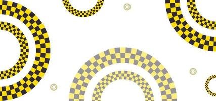 geometric shapes road style background or banner vector