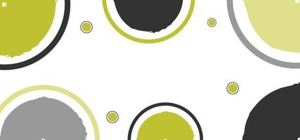 modern geometric shapes yellow and black background or banner vector