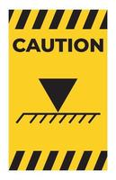 Limit Overhead Height Symbol Sign vector