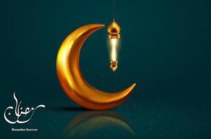 ramadan kareem traditional muslim greeting muslim greetings background vector