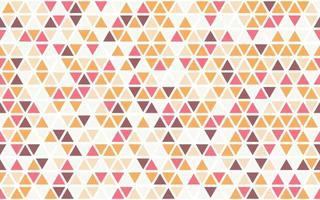 Triangle Shape Seamless Pattern Design vector