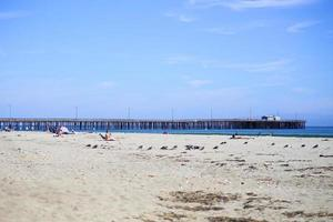Avila Beach view in California photo