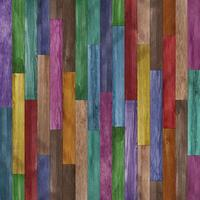 Seamless colorful painted wood texture background photo