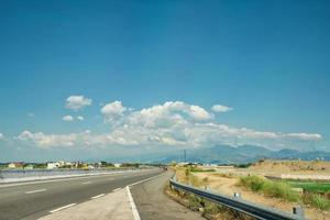 Scenic view of TPLEX on the way to Baguio City, Philippines photo