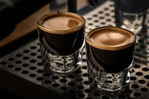 Dos tazas de café foto