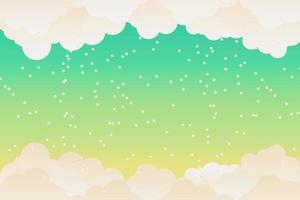 cloud sky background.Cloud flat.llustration vector.vector illustration vector
