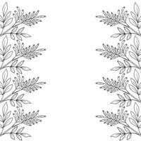 madera amarga, marco, borde vector