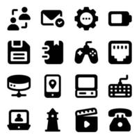 Communication Technology Elements vector