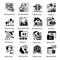 Business and Infographic Data vector