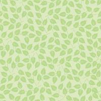 Spring seasonal lush tiled wallpaper. Leaves seamless pattern. Beautiful floral leaf background. vector